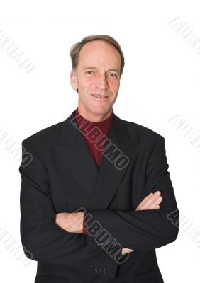 Business man with crossed arms