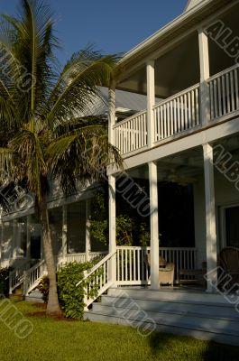 Florida Keys House With Balcony