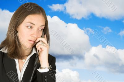 business communications - sky