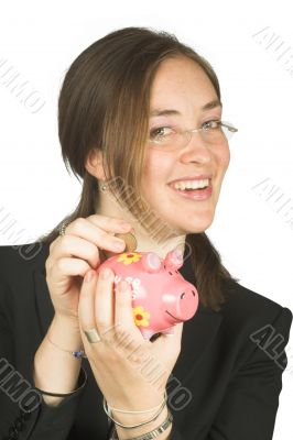 business savings - piggy bank