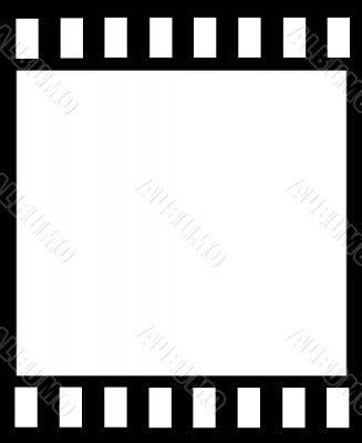 Blank Film Horizontal