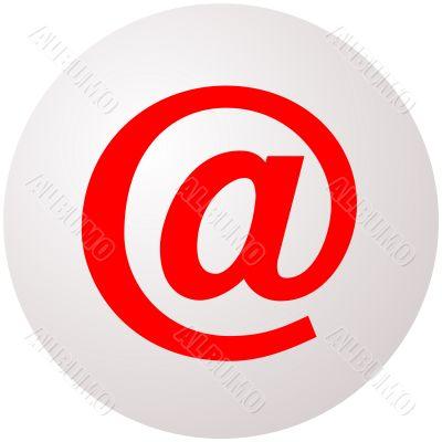 Email Symbol Sphere