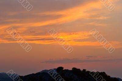 Sunrise at Trucios