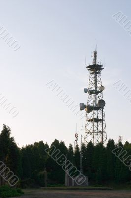 Antenna of communications