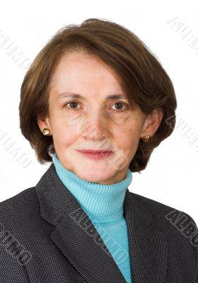 confident business woman portrait