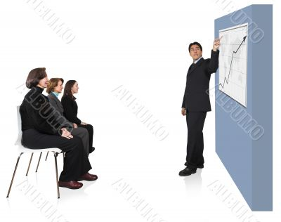 business presentation in an office 2