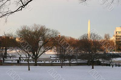 D.C. in Snow