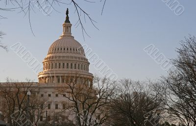 Early Morning Capitol