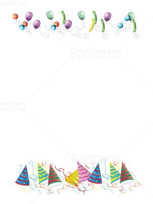 Celebrations letter background illustration