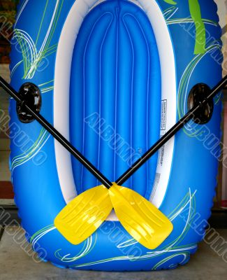 Blue Raft Yellow Oars