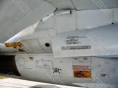 aircraft stencil