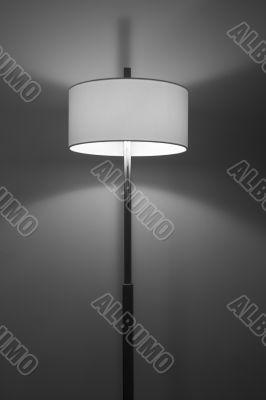 modern lamp monochrome