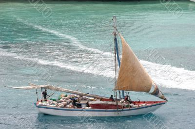 Bahama Work Boat