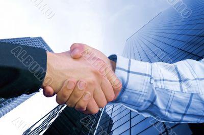 corporate deal - blue