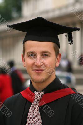 graduating student portrait