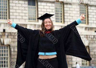 graduating student - girl sally