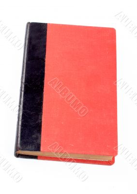 Old red and black book