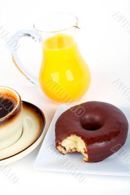 Chocolate donut bite