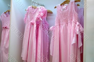 Girls` party dresses