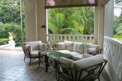 Tropical colonial architectur