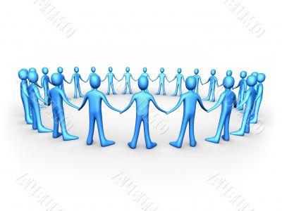 United People - Blue