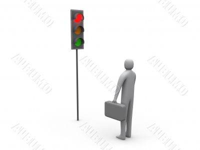Traffic Light - Business Activity Stopped