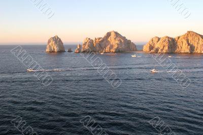 Cabo Rocks at Dawn