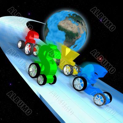 World Economy Race