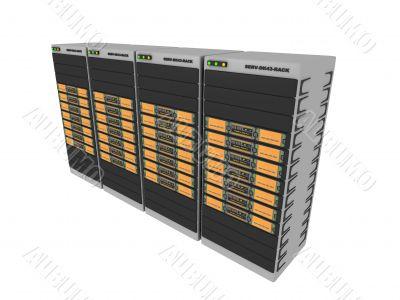3d Server - Orange #4