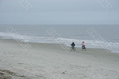 Winter Beach Ride