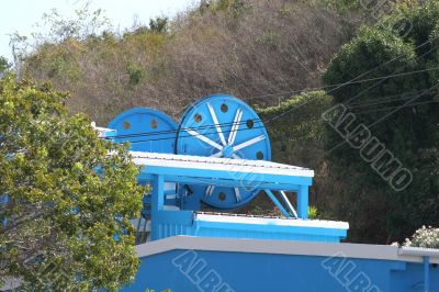 Blue Cable Reels