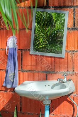 cool outdoor sanitary