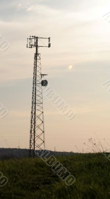 Grass Base Cell Tower