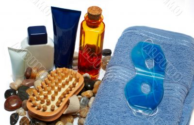 Bath accessories and beauty products
