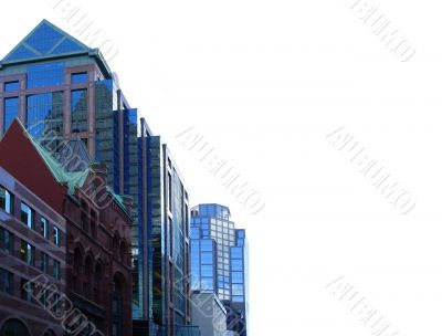 Buildings in downtown of Toronto