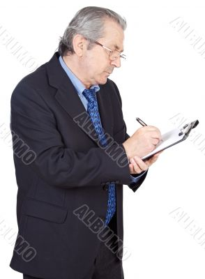seniors businessman