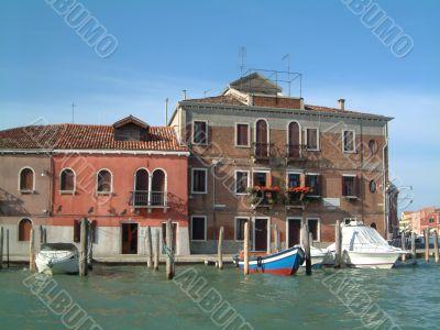 Waterfront houses Murano