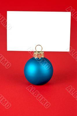 Christmas ball memo