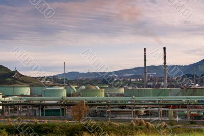 Chimneys and storage tanks