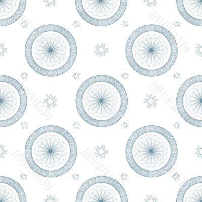 swirl blue repeat