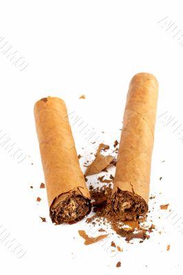 Broken cuban cigar