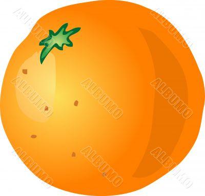 Orange sketch