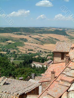 Tuscan hilltop town