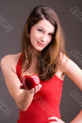 want an apple?