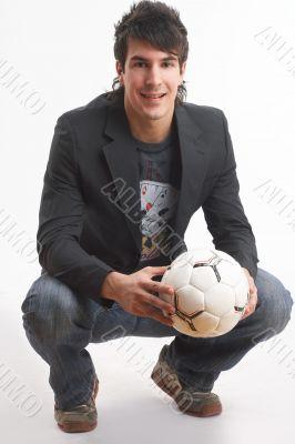 loving football