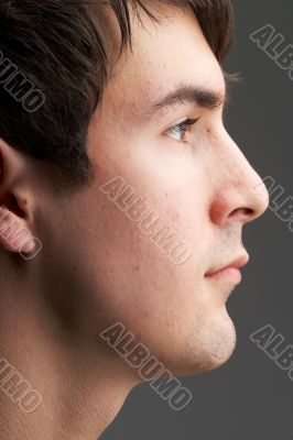 face in profile