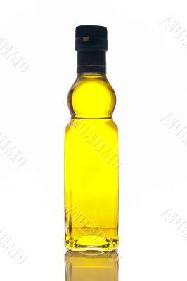 Virgin olive oil bottle