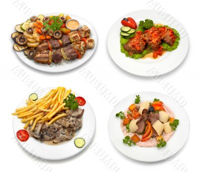 4 dishes - 2