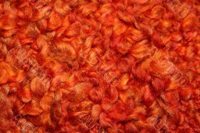 Red Orange Textile