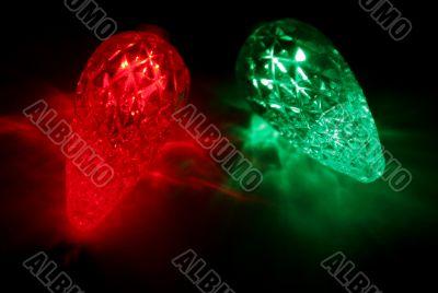 Christmas Lights Upclose